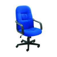 Jemini High Back Manager Blue Chair KF50180