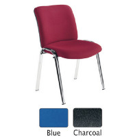 FF Avior Conference HB Chrome Chair Blue KF72259
