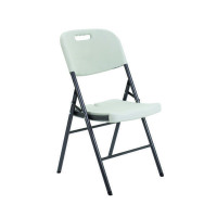 Jemini Folding Chair White KF72332