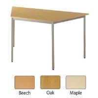 Jemini Trapezoidal Table 1600x800mm Beech KF72379