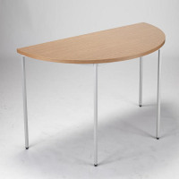 Jemini Semi-Circular Table 1600mm Oak KF72383
