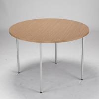 Jemini Circular Table 1200mm Oak KF72386