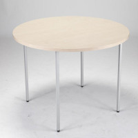 Jemini Circular Table 1200mm Maple KF72387