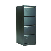 Jemini 4 Drawer Filing Cabinet Black AOC4-AV1