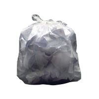 2Work White Swing Bin Liners 45 Litres (Pack of 1000) KF73379