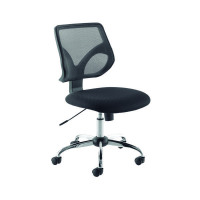Jemini Medium Back Task Black Chair KF73602