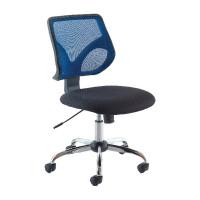 Jemini Medium Back Task Blue Chair KF73603
