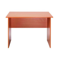 Jemini Intro Bavarian Beech Panel End Desk 1200mm KF73660