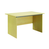 Jemini Intro 1200mm Panel End Desk Ferrera Oak KF73661