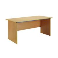 Jemini Intro Bavarian Beech Panel End Desk 1500mm KF73662
