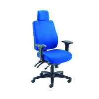 Avior Elbrus High Back Operator Blue Chair KF73874
