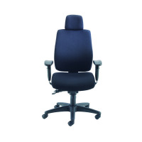 Avior Elbrus High Back Operator Black Chair KF73875