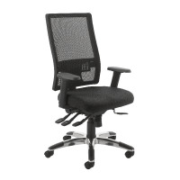 Cappela Agility High Back Mesh Posture Black Chair KF73883
