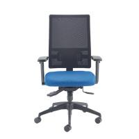 Cappela Agility High Back Mesh Posture Blue Chair KF73884