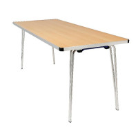 Jemini W1220xD685xH698mm Folding Table Oak KF74023