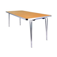 Jemini W1520xD685xH698mm Folding Table Oak KF74025