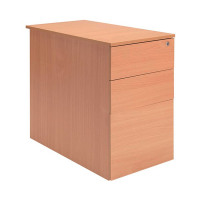 Jemini Intro D600 Bavarian Beech Desk High Pedestal KF74110