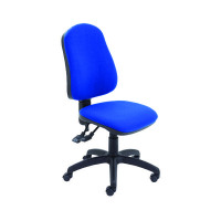 Jemini Plus Deluxe High Back Operator Blue Chair KF74121