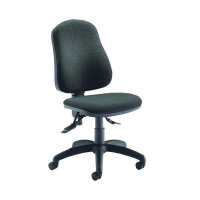 Jemini Plus Deluxe High Back Operator Charcoal Chair KF74122