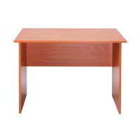 Jemini Intro Panel End Desk 1000mm Bavarian Beech KF74125