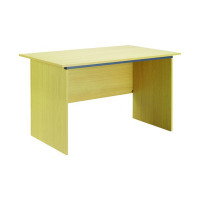 Jemini Intro Panel End Desk 1000mm Ferrera Oak KF74126