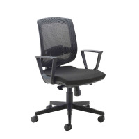 Arista High Back Mesh Task Chair Black KF74179