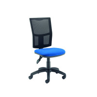 Arista High Back Mesh Task Blue Chair KF74197