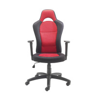 Jemini Soho Racer Chair Black/Red KF74494