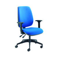Jemini High Back Task Blue Chair KF74956