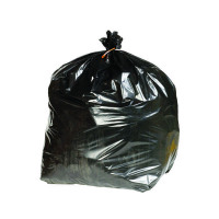 2Work Black Extra Heavy Duty Refuse Sacks 90 Litres (Pack of 200) KF76961