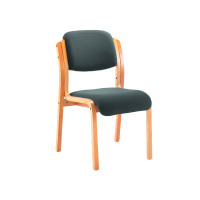 Jemini Wood Frame Side Chair Charcoal KF78680
