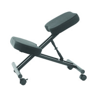 Jemini Kneeling Chair Black KF78705