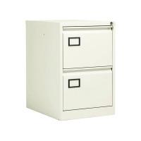 Jemini Filing Cabinet 2 Drawer White KF78706