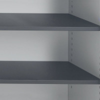 Talos Tambour Black Shelf - designed for use with Talos side opening tambour cupboards - KF78776