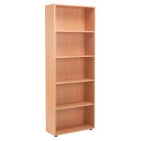 Jemini 18 Beech 2004mm Open Bookcase KF79019