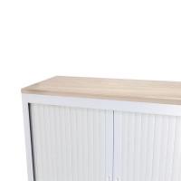 Talos Filing Cabinet Grey Oak W1000 x D450 x H25mm TCS-FIL-TOPGO