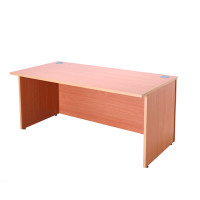 Jemini Intro Bavarian Beech 1600mm Reception Desk KF838351