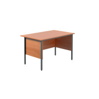 Jemini Intro Bavarian Beech 1200mm Four Leg Desk KF838367