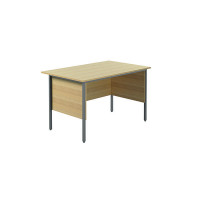 Jemini Ferrera Oak 1200mm Four Leg Desk KF838368