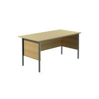 Jemini Ferrera Oak 1500mm Four Leg Desk KF838370