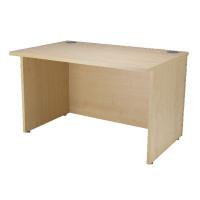 Jemini Intro Warm Maple 1200mm Reception Desk KF838406