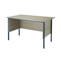 Serrion Warm Maple 1200mm 4 Leg Desk KF838532