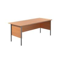 Jemini Intro 4 Leg Desk 1800mm Bavarian Beech KF838754