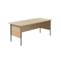 Jemini Intro 4 Leg Desk 1800mm Ferrera Oak KF838789