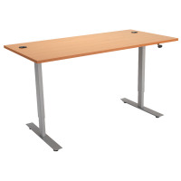 Beech 1200mm Sit / Stand Desk KF838833