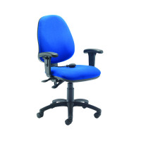 Cappela Posture Chair Plus Arms Blue KF838995