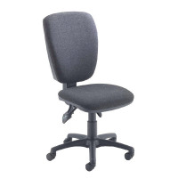 Arista Charcoal High Back Operator Chair KF97066