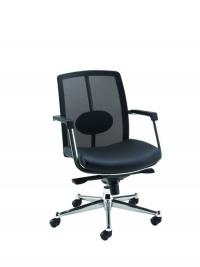 Avior Black Executive Mesh Back Task Chair KF97083