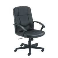 First Thames Leather Look Chair KF98502