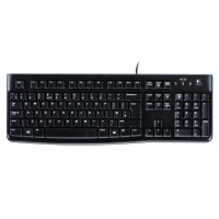 Logitech K120 Business Keyboard Black (Spill resistant with low profile, quiet keys) 920-002524